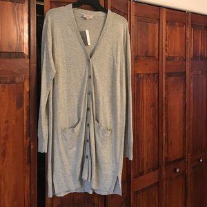 NWT Loft longline cardigan
